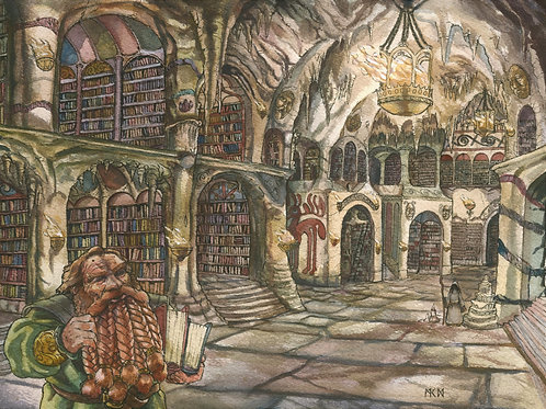 The Library of Nimdoa