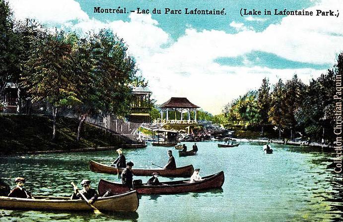 Lac du Parc Lafontaine-1922