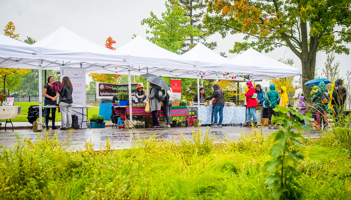 Marché public d'automne d'Ahuntsic-Cartierville 2019