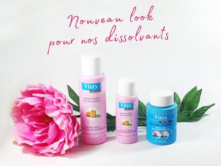 Nouveau Look pour nos dissolvants !