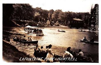 Parc Lafontaine - 1935