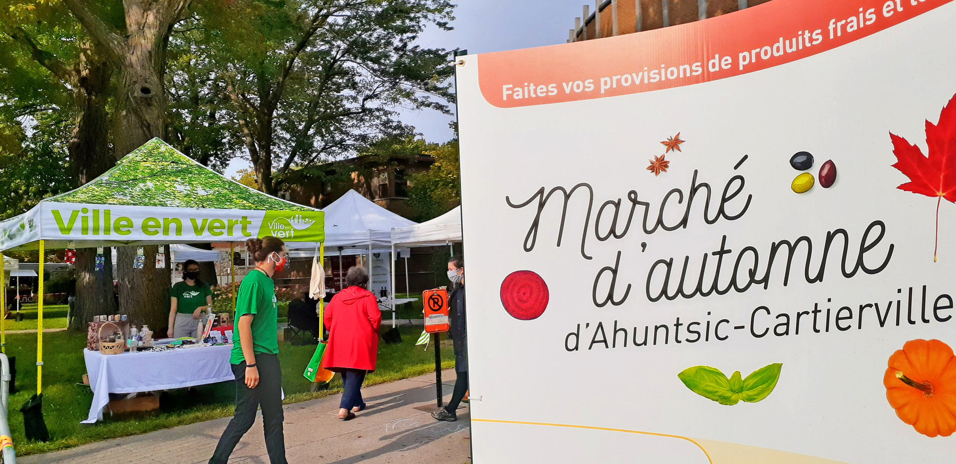 Marché public d'automne d'Ahuntsic-Cartierville 2020