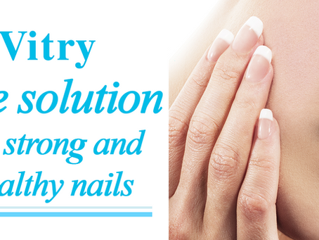 The 3 Nail Repair Care from Vitry, for healthy and strong nails!