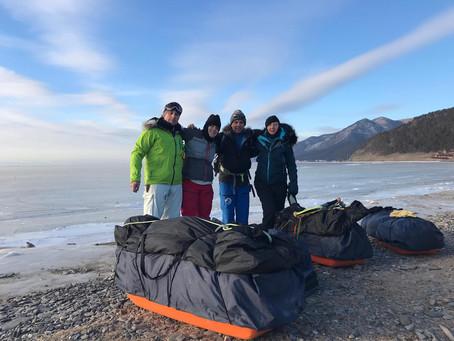 Magical start to Lake Baikal Expedition