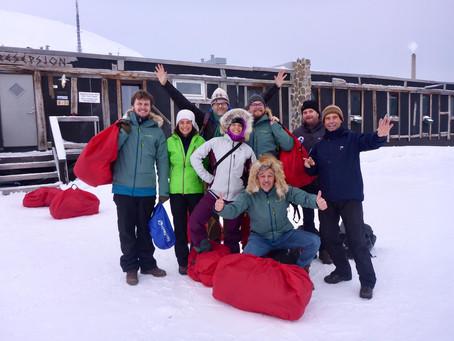 Final preparations in Longyearbyen