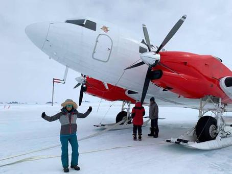 Deeper into Antarctica