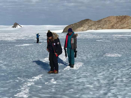 First Steps in Antarctica