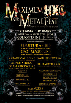 MAXIMUM HXC & METAL FEST (BE) 2009