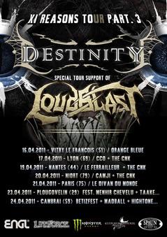 LOUDBLAST + DESTINITY