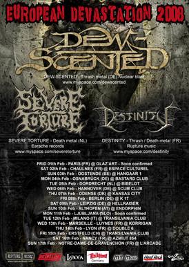 EUROPEAN DEVASTATION TOUR 2008