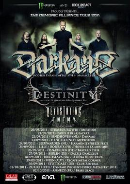 DARKANE + DESTINITY + DEVASTATING ENEMY