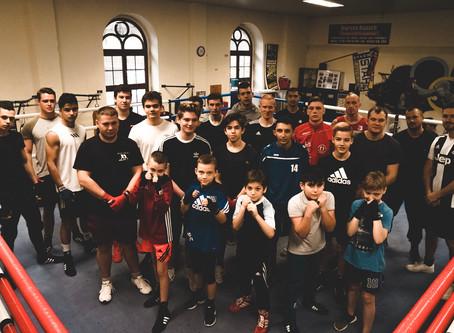Gemeinsame Vorbereitung der Boxvereine aus dem Harz auf die Landesmeisterschaften