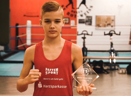 Liam Schulz erneut bester Boxer