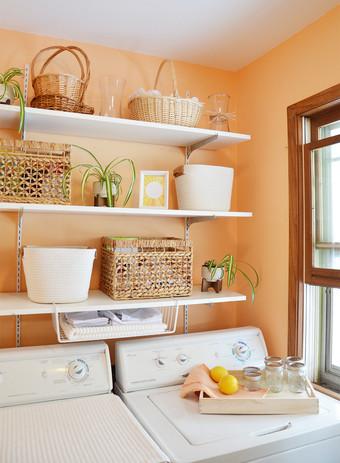 Sunny Laundry Room