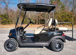 Club Car Onward PTV black golf cart