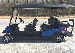 Club Car Onward 6 six passenger golf cart ptv