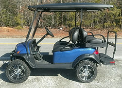 Club Car Onward Lifted PTV pearl blue