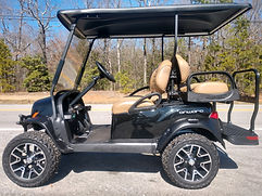 Club Car Onward Lifted PTV tuxedo black