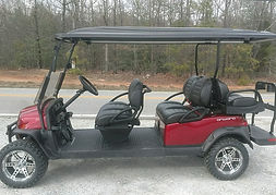 Club Car Onward 6 Passenger golf cart ptv