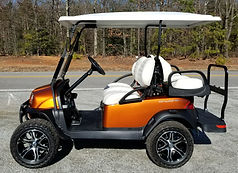 Club Car Onward Lifted PTV atomic orange