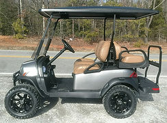 Club Car Onward Lifted PTV  platinum