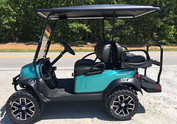 Club Car Onward PTV Metallic Teal