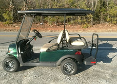 Club Car Onward PTV metallic green