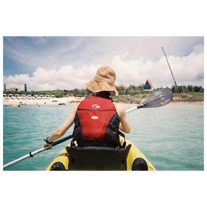 miyakojima 宮古島の旅⚡カヤック #filmcamera #写ルンです__#traveldeeper #tripleh #corals #ig_portrait #ig_japan #ig_travel #kayak #seaside #fujifilm #portra