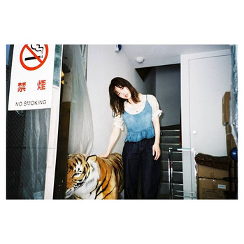 _tokyo_local_trip #portrait #ポートレート__#portraits #film#filmphotography #filmlover #filmisnotdead #ig_japan #reco_ig #tiger #fashionpost #35mm