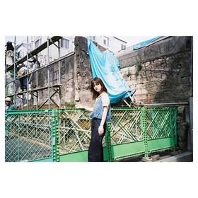 _tokyo_local_trip _#balloonhair#作撮り__#bigmini #fuji #photographer #naturaclassica #model#fashion #film #filmphotography #35mmfilm #konica #ビ