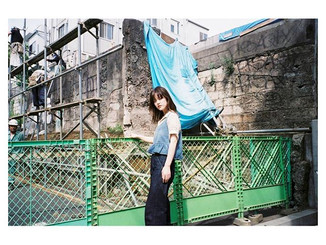 _tokyo_local_trip _#balloonhair#作撮り__#bigmini #fuji #photographer #naturaclassica #model#fashion #film #filmphotography #35mmfilm #konica #ビ