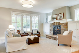 Color, carpeting and lighting updates