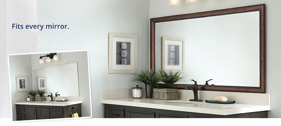 Bathroom Mirror Frame in Minneapolis