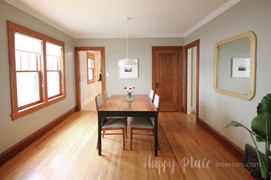 Staging Consultation Results — Dining Room