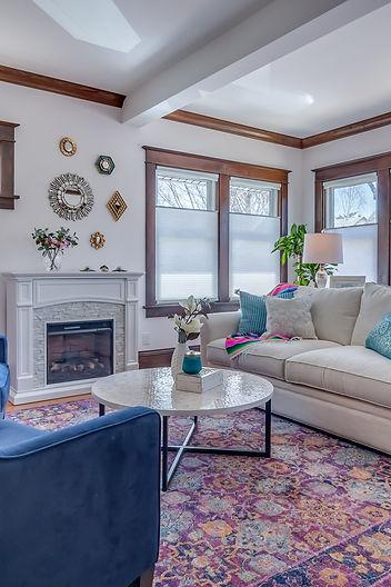 Minneaplis Home decorating living room