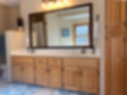 Bathroom mirror frame minneaplis