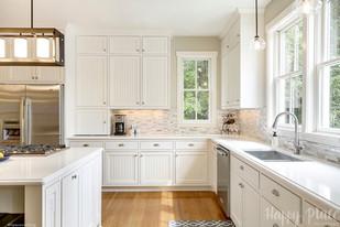Kitchen style upgrade in Stillwater, MN.