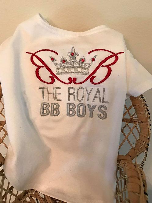 Red Royal BB Boy Tee Shirt