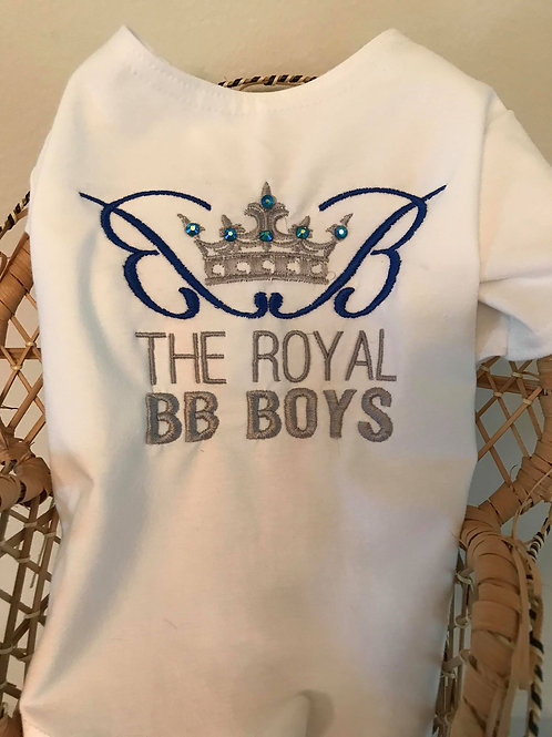 Royal Blue Royal BB Boy Tee Shirt