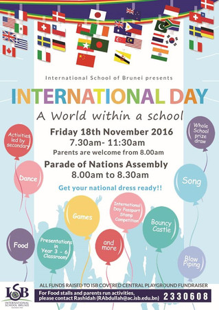 International Day @ ISB!