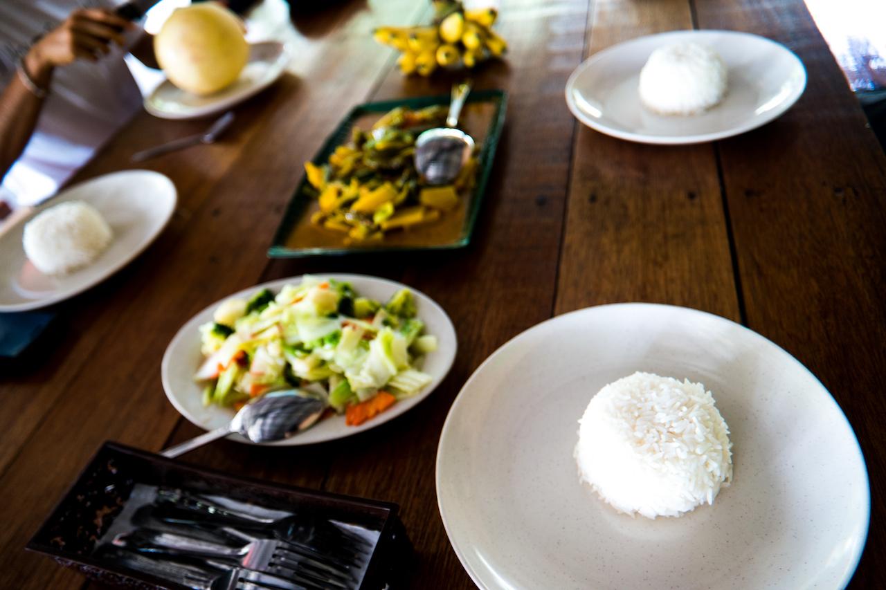 meal at eco village sibuling