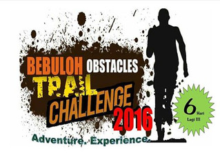 Bebuloh Obstacles Trail Challenge 2016 will start soon.