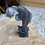 Thumbnail: Rainbow Fluorite Carved Free Standing Dolphin