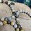 Thumbnail: Ocean Jasper 'Atlantis Stone' Bracelet with 'OM' Charm