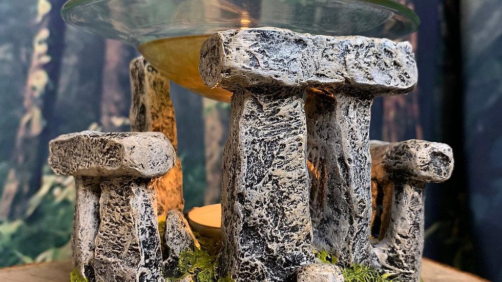 Stone Circle Stonehenge Wax Melt Oil Burner