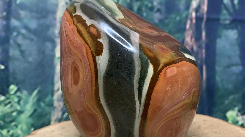 Polychrome Jasper 'Orby' Large Free Form