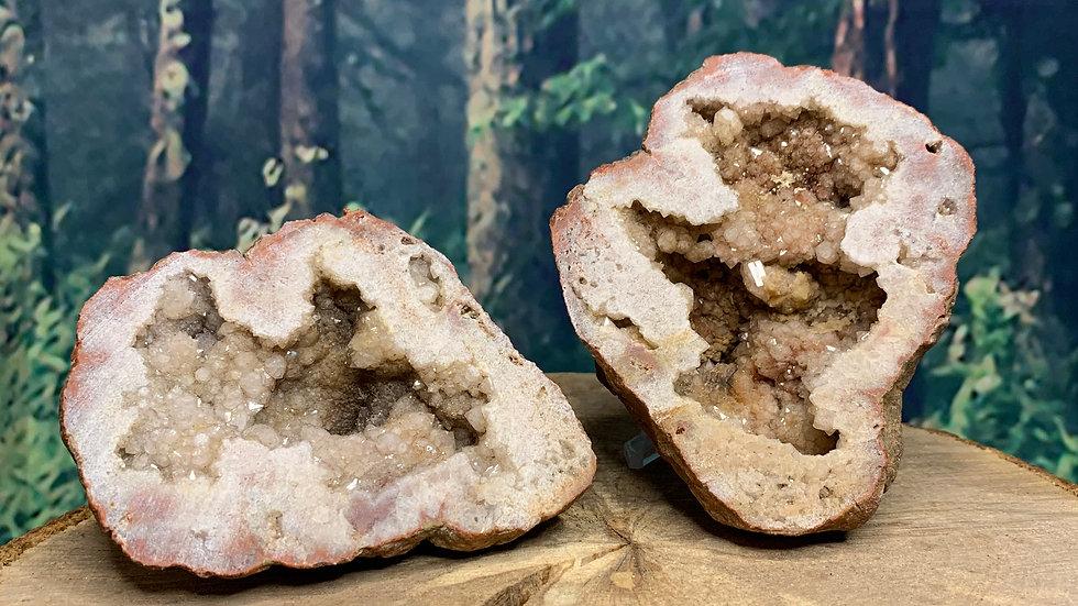 Pink Quartz Full Natural Geode
