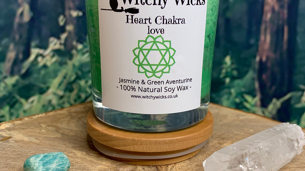 Heart Chakra Candle for Love & Oneness