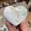Thumbnail: Caribbean Blue Calcite Druzy Heart