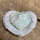 Thumbnail: Caribbean Blue Calcite Heart for an Overactive Mind
